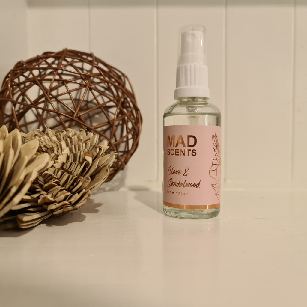 Clove & Sandalwood - 50ml Room Spray