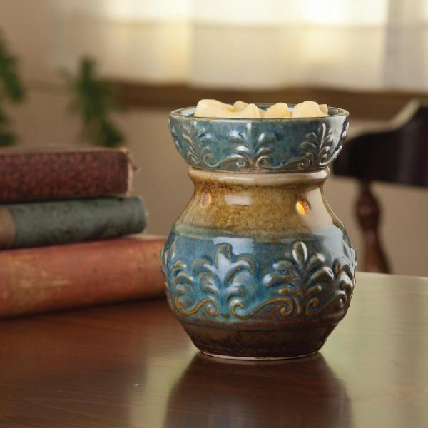 Blue Fleur de Lis Illumination Warmer Electric Warmer