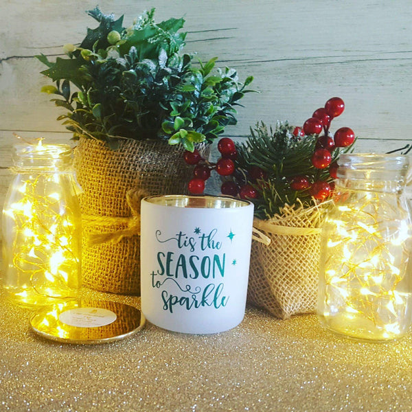 White Christmas - Tis the Season Classique Woodwick Candle