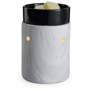 White Marble Ceramic Electric Warmer