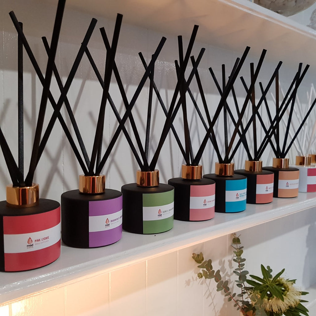 The Colour Range - Matte Black Reed Diffuser (120ml)
