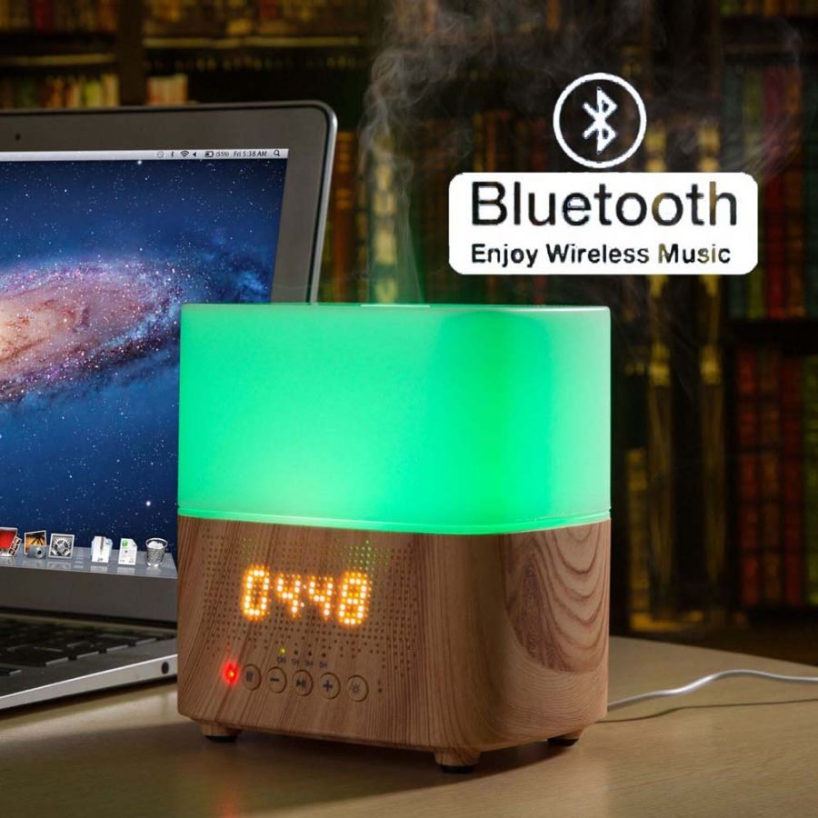 Alcyon Melody Bluetooth Music Alarm Clock Ultra Sonic Diffuser