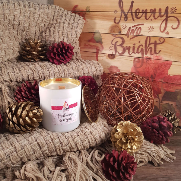 Gingerbread - Classique wooden wick candle
