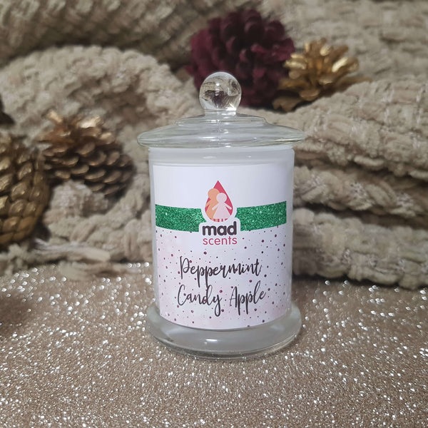 Peppermint Candy Apple - Petite Soy Candle