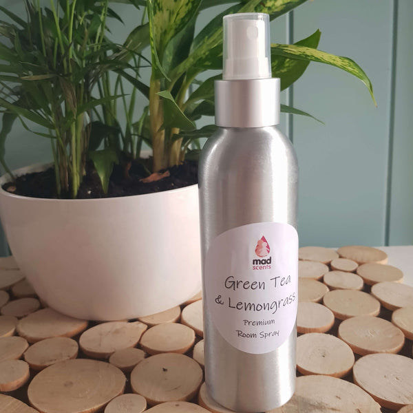 Green Tea & Lemongrass Premium Room Spray
