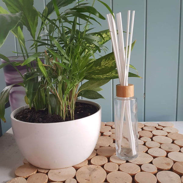 MADE TO ORDER - 100ml Clear Glass Reed Diffuser