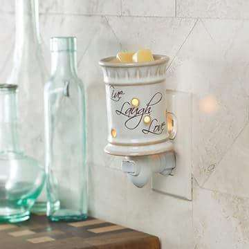 "Plug-in ""Live Laugh Love"" Electric Warmer"