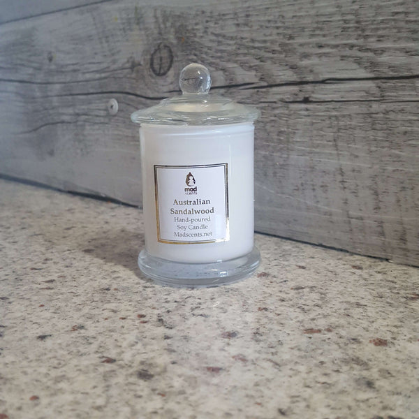 Sheer Lily White Rose -White Soy candle