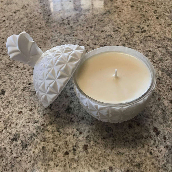 White Pineapple Candle
