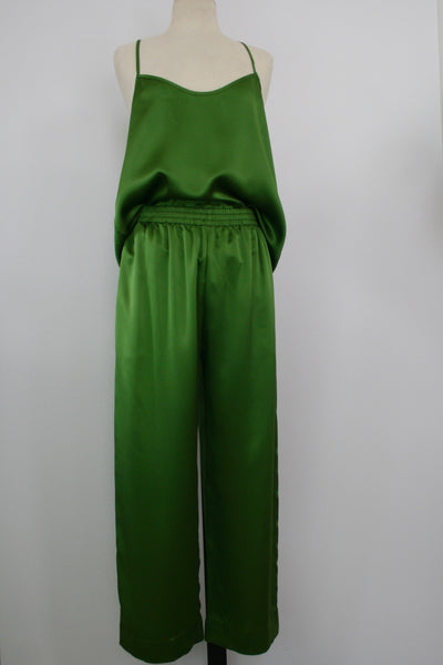 pants silk jogging