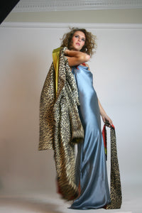CHEETAH REVERSIBLE ROBE