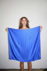 ELECTRIC BLUE SCARF