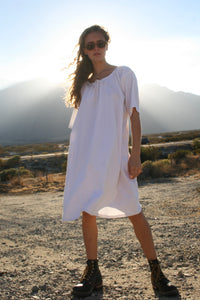 linen French dress