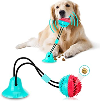 Suction Cup Dog Toy for Aggressive Chewers