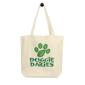 Doggie Dailies Organic Cotton Tote