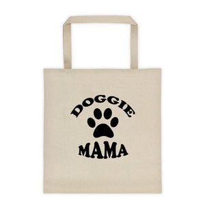 Doggie Mama - Canvas Tote bag