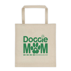 NEW Doggie Mom Canvas Tote bag
