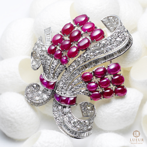 Lueur Ruby Jewelry Collection