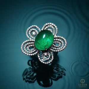 Lueur Emerald Jewelry Collection
