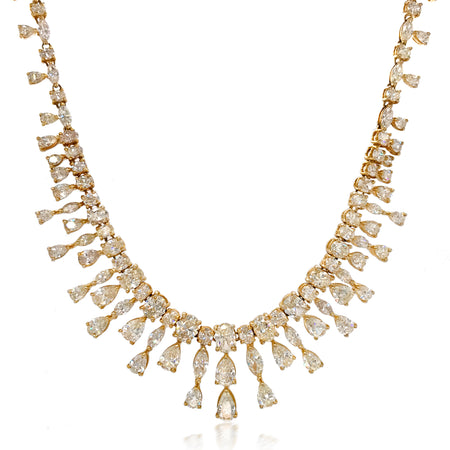 40.0-Carat Diamond Necklace - Lueur Jewelry