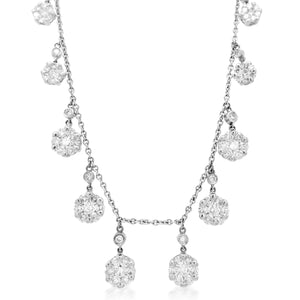 Diamond Necklace - Lueur Jewelry