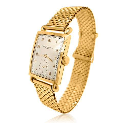 Vacheron & Constantin, 18K Gold Wristwatch - Lueur Jewelry