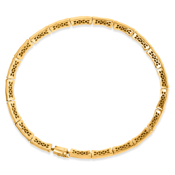 18K Gold Diamond  Necklace - Lueur Jewelry