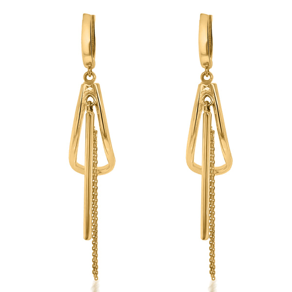 18K Gold Earrings - Lueur Jewelry