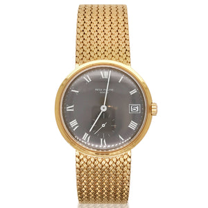 Patek Philippe, Gold Watch - Lueur Jewelry