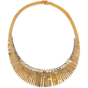 Diamond Gold Necklace - Lueur Jewelry