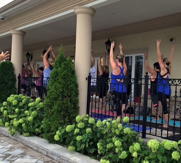 Summertime Yoga and Wine! Gallucci Winery