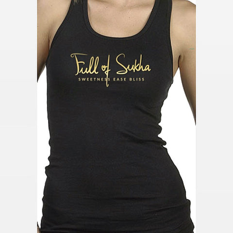 Full of Sukha racerback tank!
