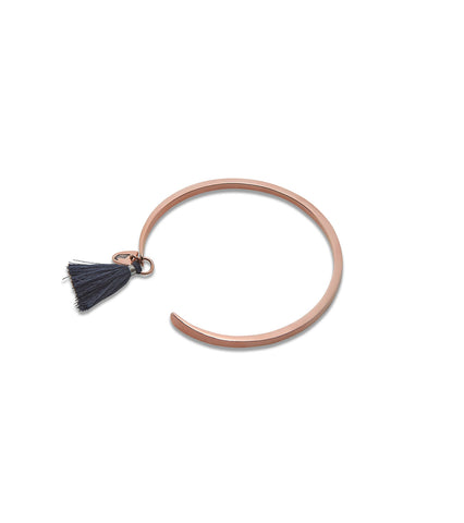 MAIYET X THE BRAVE COLLECTION ROSE GOLD TASSEL CUFF