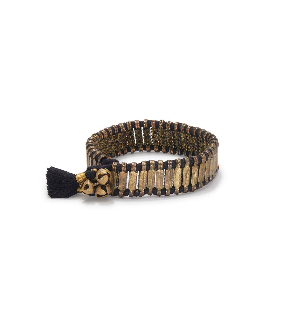 MADU Little Jingle Black Bracelet