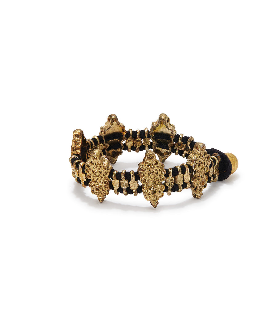 MADU Diamond Shaped Black Bracelet