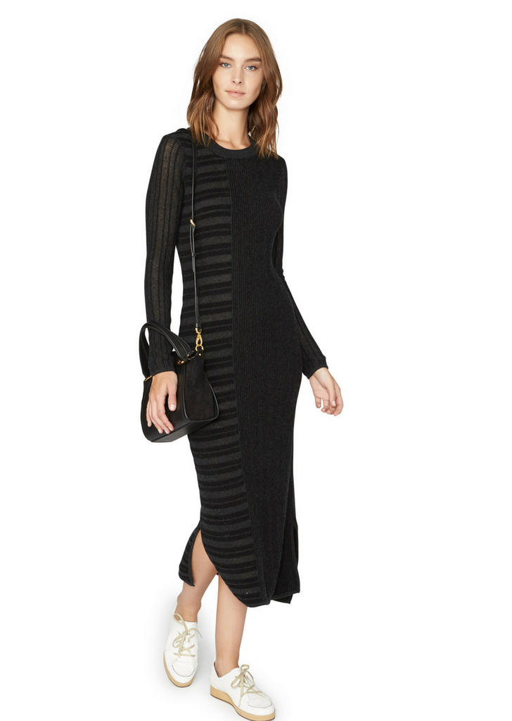 Knit Stripe Sheath Dress