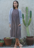 Kopal Kuku Dress in Black Polka
