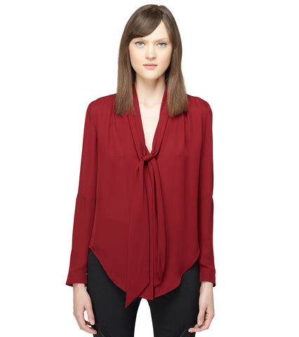 ELLIPSE SLEEVE BLOUSE