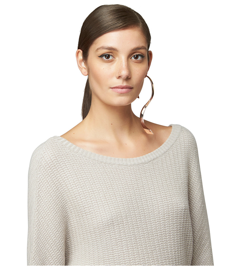 CASHMERE BOATNECK SWEATER
