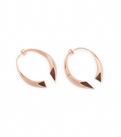 LARGE HOOP EARRING