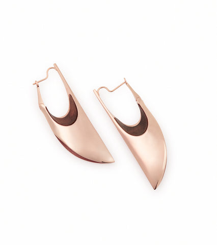 CONCAVE LARGE LAYER EARRINGS