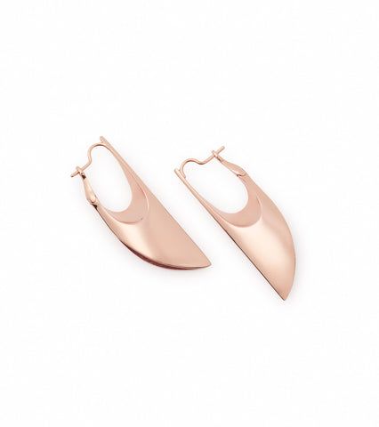 CONCAVE MEDIUM LAYER EARRINGS