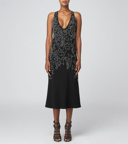 MIDI BIAS SLIP DRESS