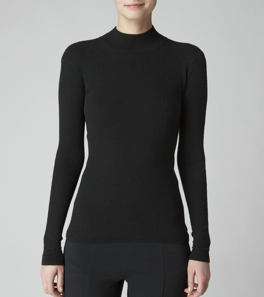 CASHMERE MOCK TURTLENECK