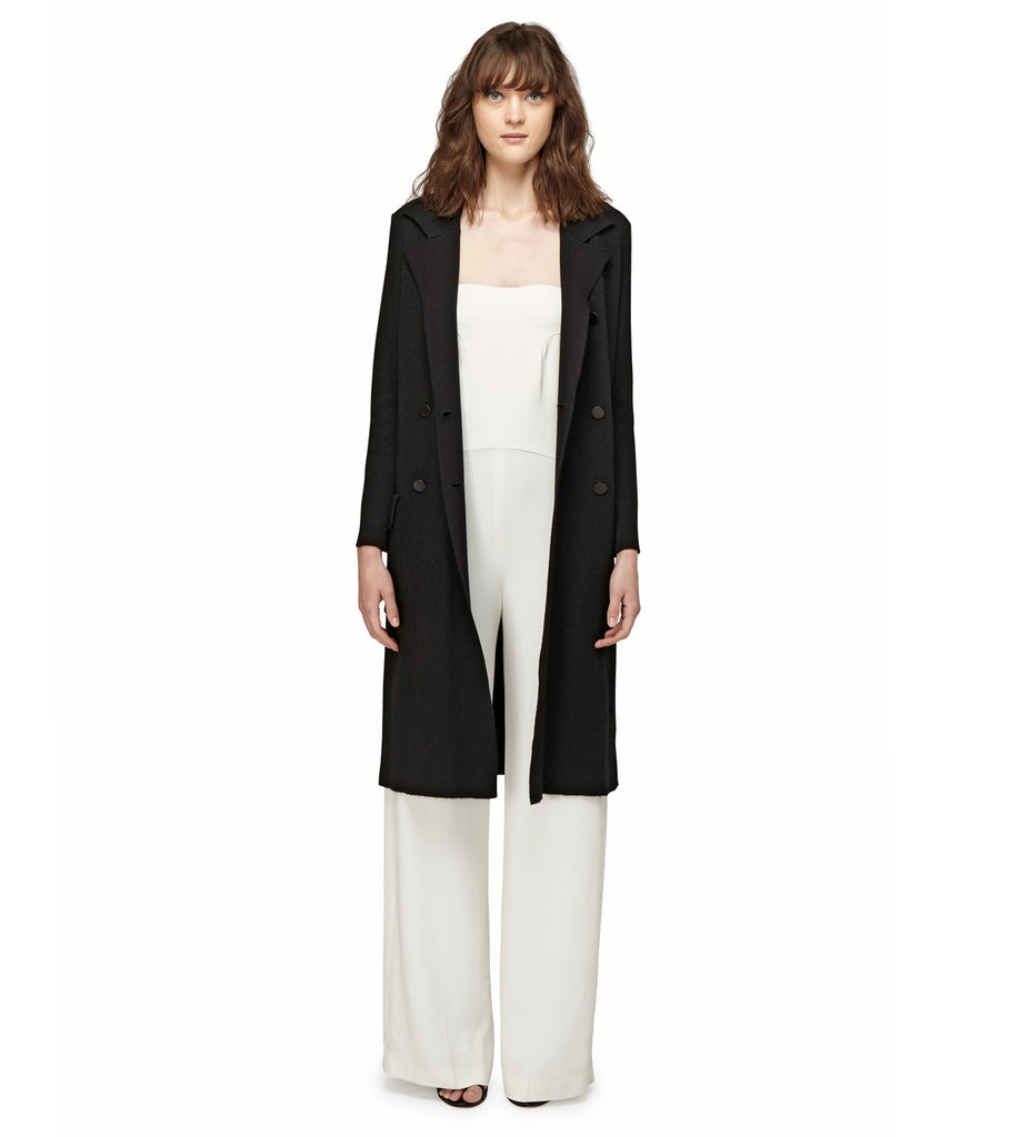 CASHMERE KNIT TRENCH