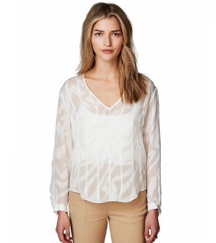SOFT COLLARLESS SHIRT
