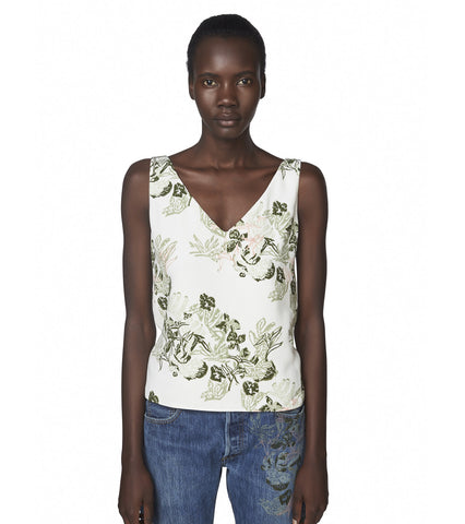 Maiyet x Lily Kwong <br/>Cross Back Top