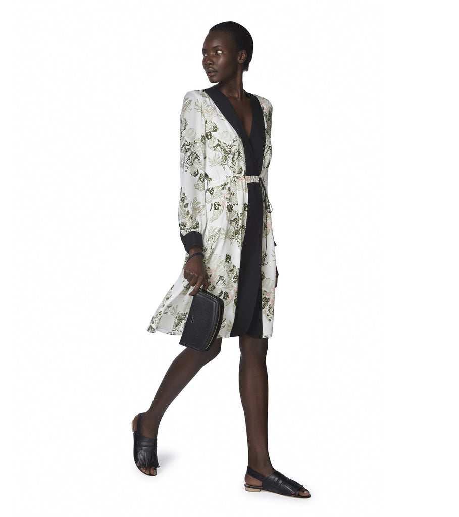 Maiyet x Lily Kwong <br/>Long Sleeve Tie Waist Dress