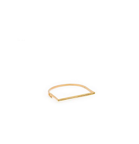 BAGUETTE DIAMOND BAR BRACELET