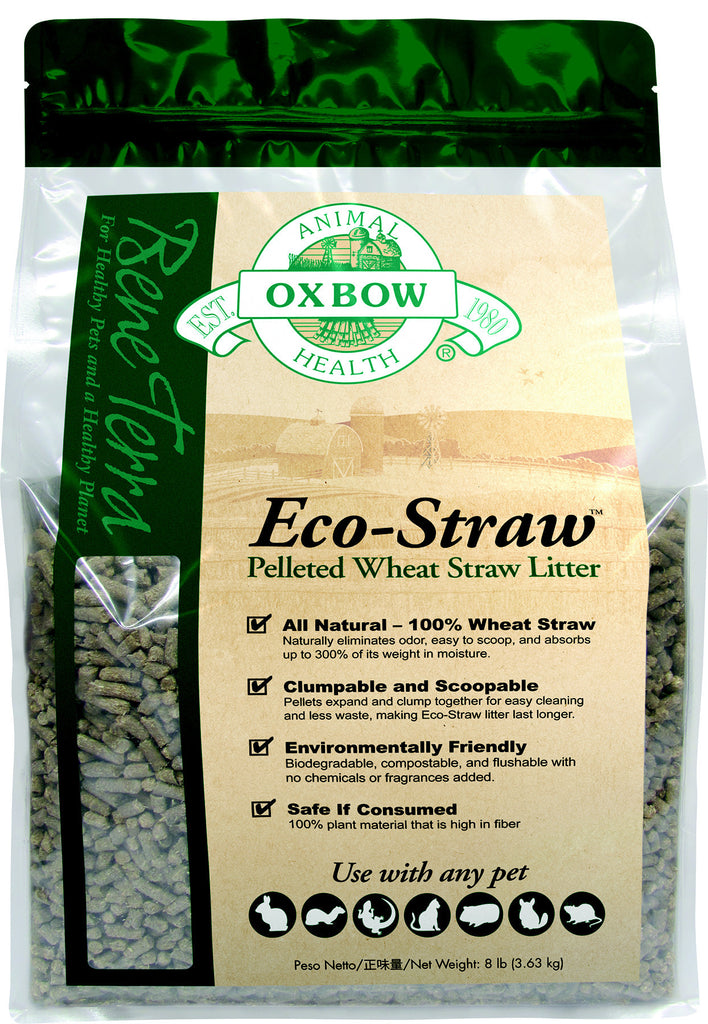 Eco-Straw Litter - Litière
